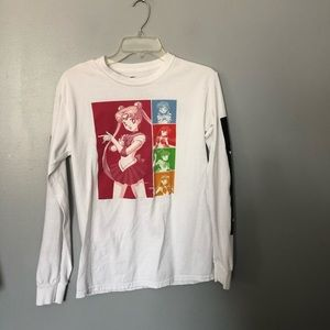 Sailor moon long sleeved T-shirt S